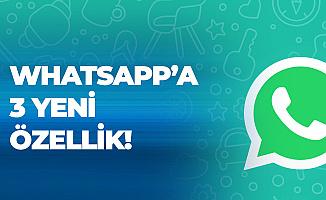Whatsapp'a Yeni Özellik! İnstagram'da ve Snapchat'te Sevilen Özellikler Geliyor