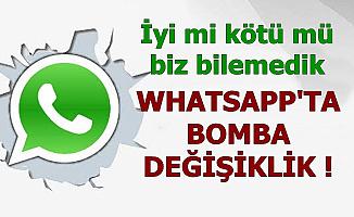 WhatsApp'da Bomba Değişiklik: O Özellik Kalkıyor