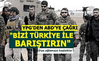 """YPG'den ABD'ye Çağrı: """"Türkiye ile Bizi Barıştırın"""""""
