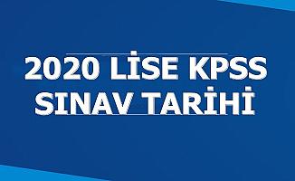 2020 Lise/Ortaöğretim KPSS Sınav ve Başvuru Tarihi Açıklandı