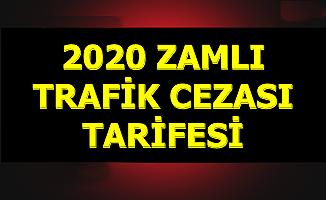 2020 Trafik Cezaları Belli Oldu (Kırmızı Işık-Kemer Takmama-Telefon-Hız Sınırı-Alkollü Araç Kullanma)