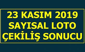 23 Kasım Devirli Sayısal Loto Çekiliş Sonucu Açıklandı-MPİ 2019