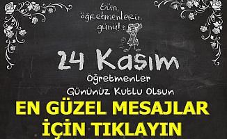24 Kasım Öğretmenler Günü Sözleri Kısa SMS ve Resimli GİF Mesajı