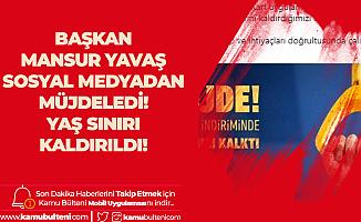 Ankara Büyükşehir Belediyesi'nden Örnek Proje: Yaş Sınırı da Kaldırıldı
