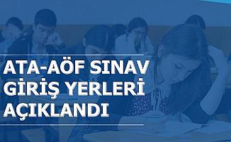 Atatürk Üniversitesi AÖF Vize Sınav Giriş Yerleri Açıklandı (ATA AÖF Obs Girişi)