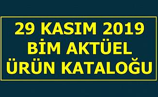 Bim 29 Kasım 2019 Cuma Aktüel Ürünler Kataloğu