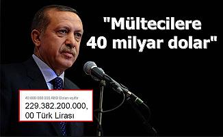 """Cumhurbaşkanı Erdoğan: """"Mültecilere 40 Milyar Doları Aşkın Para Harcadık"""""""