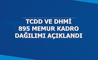 DHMİ ve TCDD'ye 895 Personel-Kadro Dağılımı Açıklandı