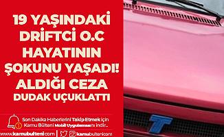 """""""Hava Atacağım"""" Derdindeki O.C. İsimli Sürücüye Polis Şoku! 9 Bin 281 Lira Ceza Aldı"""