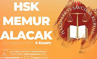 HSK Memur Alımı için Başvuru İşlemleri 4 Kasım'da Sonlanacak