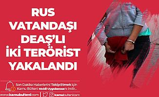 İnterpol Tarafından Aranan DEAŞ'lı Teröristler Kilis'te Yakalandı