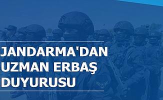 Jandarma'dan 2019 Uzman Erbaş Alımı Durum Duyurusu