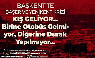 Kara Kış Kapıda! Ankara Sincan'da Yenikent ve Başer Durağı Sorunları Can Sıkıyor