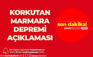 Marmara için Korkutan Deprem İddiası