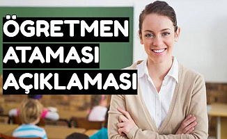 Hamza Aydoğdu'dan Öğretmen Atamasında Heyecanlandıran Açıklama: 30-40 Bin Atama mı Olacak?