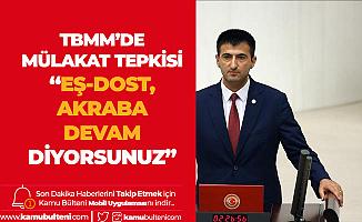 Mehmet Ali Çelebi'den Mülakat Tepkisi :Eş Dost Akraba, Yola Devam Diyorsunuz!