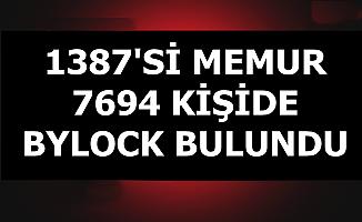 Son Dakika: 1387'si Memur 7694 Kişide ByLock Tespit Edildi (ByLock Nedir?)