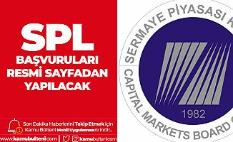 SPL Başvuruları SPL'nin Resmi Sayfasından Yapılıyor