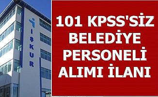 12 İlde Belediyelere KPSS Şartsız 3 Bin TL Maaşla Personel Alımı