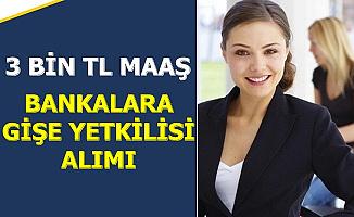 3 Bin TL Maaş: Bankalara Personel Alımı Başvuru Ekranı Açıldı