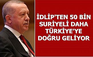50 Bin Suriyeli Daha Türkiye'ye Geliyor