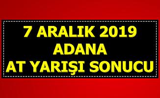 7 Aralık Adana At Yarışı Sonuçları Tjk