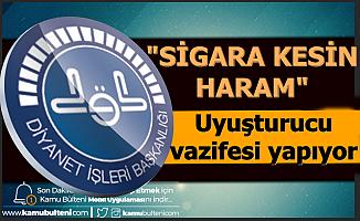 """Ali Erbaş: """"Sigara Kesin Haram"""""""