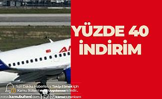 Anadolujet Yurt içi Uçuşlar için %40 İndirim Kampanyası Başlattı