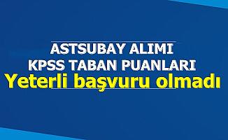 Astsubay Alımında KPSS Taban Puanı Açıklandı-Yeterli Başvuru Olmadı
