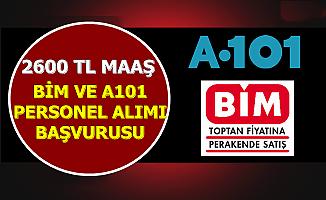 Bim ve A101 Personel Alımı Başvurusu Başladı-2600 TL Maaş