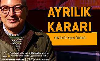 Cem Seymen CNN Türk'teki Programını Bıraktığını Açıkladı