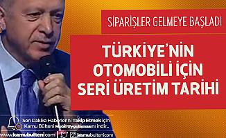 Cumhurbaşkanı Erdoğan Tarihi Hatırlattı: Türkiye'nin Otomobili Seri Üretimine Hedeflendiği Tarihte Geçecek!