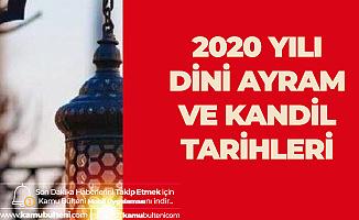 Diyanet İşleri Başkanlığı 2020 Yılı Kandil ve Bayram Günleri Takvimini Yayımladı
