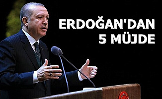 Erdoğan'dan 5 Konuda İyi Haber (Memur Alımı-Asgari Ücret-TOKİ-Sözleşmeli Kadro...)