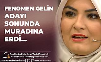 """Fenomen Gelin Adayı """"Hanife Gürdal"""" Evlendi"""