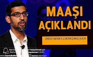 Google'ın CEO'su Sundar Pichai'nin Maaşı Dudak Uçuklattı
