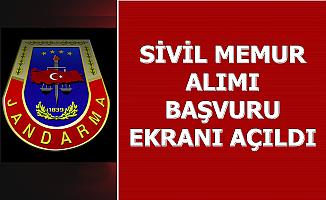 Jandarma Kamu Personeli Alımı Başvuru Ekranı Açıldı