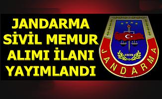 Jandarma Sivil Memur Alımı İlanı Yayımlandı 2019
