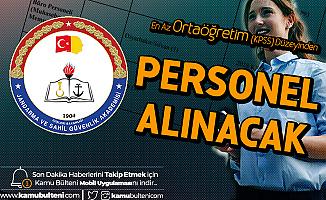 Jandarma ve Sahil Güvenlik Akademisi Sözleşmeli'ne En Az Ortaöğretim (KPSS) Düzeyinden Personel Alımı Başvurularına Yoğun İlgi Sürüyor