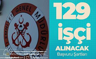 Kıyı Emniyeti Genel Müdürlüğü'ne 129 İşçi Alımı (Lise, Önlisans, Lisans) Yapılacak