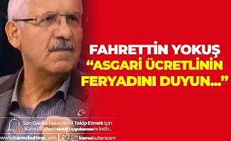 Konya Milletvekili Fahrettin Yokuş'tan Canlı Yayında Asgari Ücret Çıkışı : Asgari Ücretlinin Feryadını Duyun