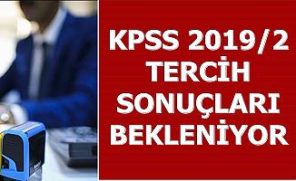 KPSS 2019/2 1743 Memur Alımı Tercih Sonuçları Bekleniyor