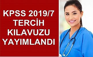 KPSS 2019/7 Tercih Kılavuzu Yayımlandı-Sağlık Bakanlığı Kamu Personeli Alımı Yapacak