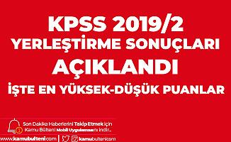 KPSS Yerleştirme Sonuçları Açıklandı! KPSS 2019/2 ile Memur Alımı Duyurusu Yayımlandı