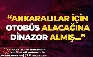 Mansur Yavaş'tan eski Başkana Sert Tepki: Otobüs Alacağına Dinazor Alınmış