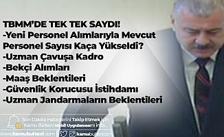 MHP'li Atay TBMM'de Tek Tek Saydı! Uzman Jandarmaların Sorunları, Bekçi Alımı, Uzman Çavuş Alımı, Güvenlik Korucusu Alımları, Maaş Sorunları