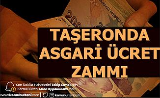 Taşeronda Asgari Ücret Zammı Ocak 2020