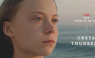 Time Dergisi Yılın Kişisi Olarak Greta Thunberg'i Seçti