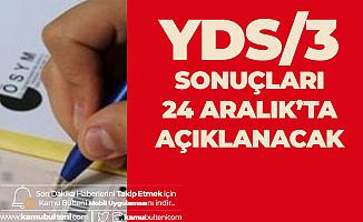 YDS Sonuçları 24 Aralık'ta ÖSYM Tarafından Açıklanacak! YDS Soruları, Cevaplar ve Yorumlar