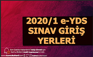 2020 İlk e-YDS 25 Ocak'ta Yapılacak-Sınav Giriş Yerleri Açıklandı